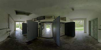 Dachau fumigation cubicles